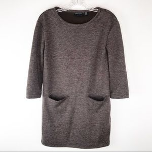 Adrienne Vittadini Sweatshirt Shift Dress XS